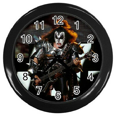 GENE SIMMONS KISS 10 inch 25cm COLLECTIBLE WALL CLOCK 98864736
