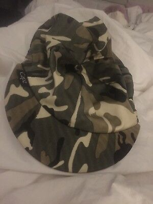 Camouflage Riding Hat Cover For Jockey Skull Caps One Size New
