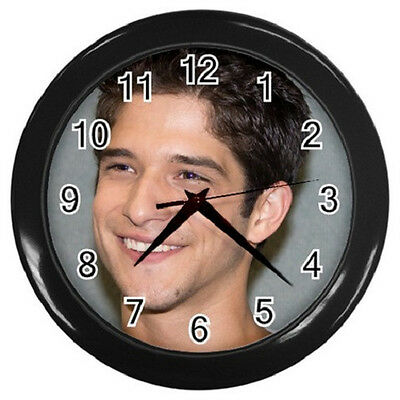 TYLER POSEY TEEN WOLF 10 inch 25cm COLLECTIBLE WALL CLOCK 99218429