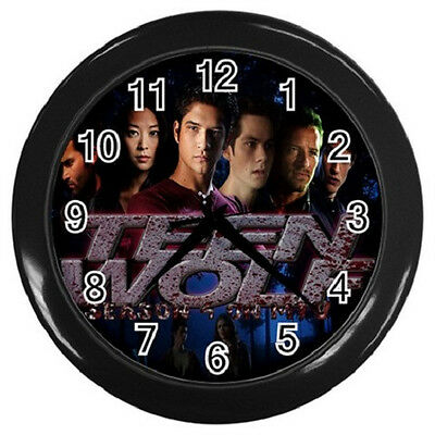 TEEN WOLF ACTORS 10 inch 25cm COLLECTIBLE WALL CLOCK 99218474
