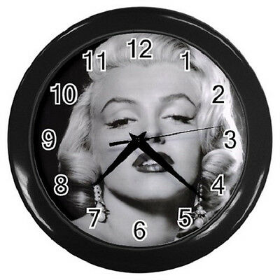 MARILYN MONROE 10 inch 25cm COLLECTIBLE WALL CLOCK 99218349