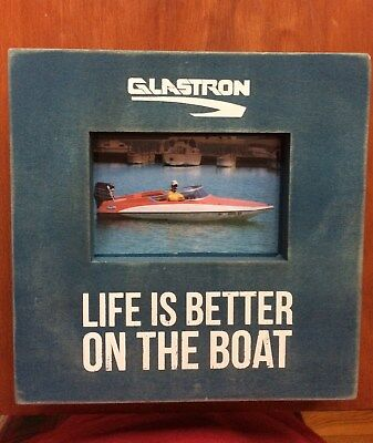 Glastron Picture Box with TWO Logo Choices