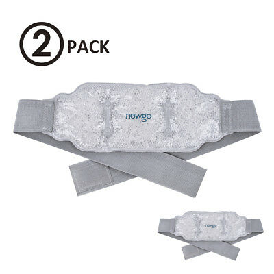 Lower Back Ice Pack Gel Pearls Ice Wrap Heat Cold Pack Pain Relief Sore Mucles