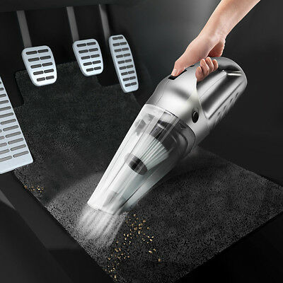 Portable Car Handheld Vaccum Cleaner Dry Wet Dual Use Multifunction Home Auto