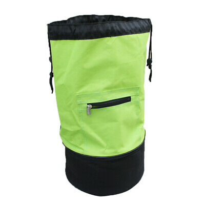 Basketball Soccer Mesh Carry Bag Handbag Backpack Storage Duffel Bag