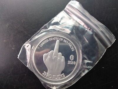 ZFG Inc. Zero F's Prank Given Giftable Novelty Coins (middle finger coin)!