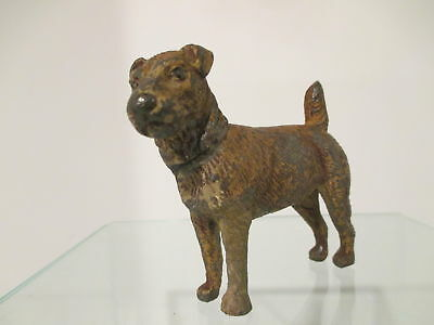 Antique Resin Dog Circa 1920 Marked Germany