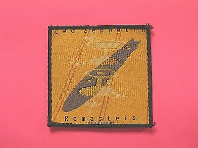 Led Zeppelin Official Vintage 1990 Woven Patch Uk Import  Sew - On Page Bonham