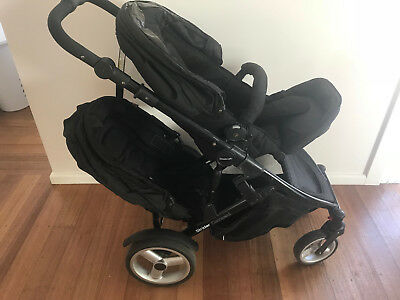 Steelcraft Strider Compact Pram with Second Seat