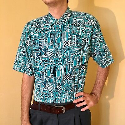 VTG Funky casual mens shirt Medium