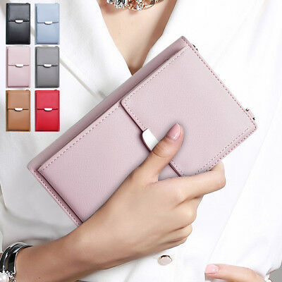 Women's New Quality Pu Leather Wallet Phone Purse Cross-body Shoulder Bag Small