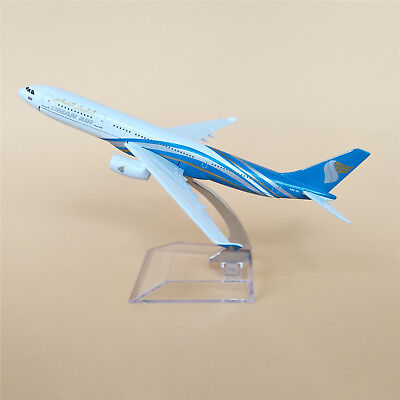New 16cm Oman Air Airbus 330 A330 Airlines Metal Aircraft Airplane Model Plane