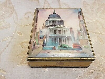 Vintage St. Paul's Cathedral Edward Sharp & Sons Ltd. Tin