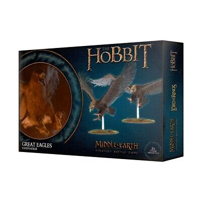 The Hobbit: Great Eagles Games Workshop Brand New 99121499034
