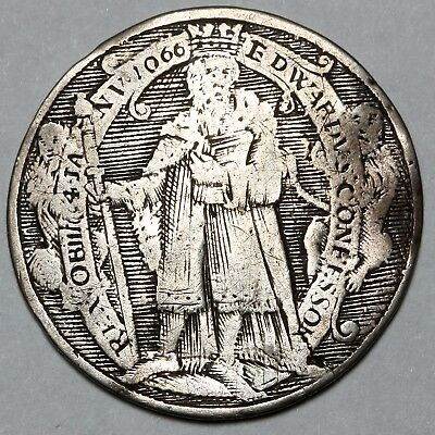 1625 - 1649 King Charles I Great Britain Silver Jeton Gaming Coin Token