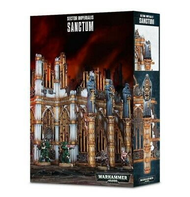 Sector Imperialis: Sanctum Games Workshop Warhammer 40,000 Brand New