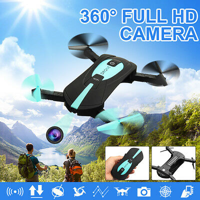 Foldable Selfie Drone 200W HD Camera 2.4G Wifi Mobile APP Control Quadcopter Toy