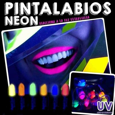 Pintalabios luminosos UV