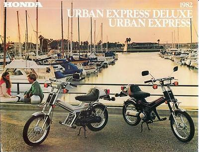 '82 Honda Urban Express NU50 Sales Brochure Original