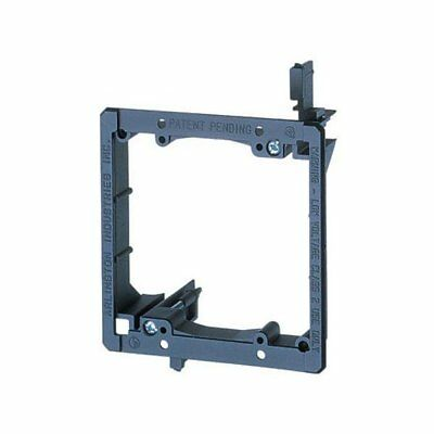 Arlington LV2-1CS 2-Gang Low Voltage Mounting Bracket