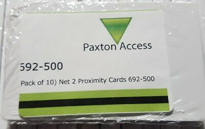 Paxton Access Net 2 Proximity Cards 692-500 Pack of 10
