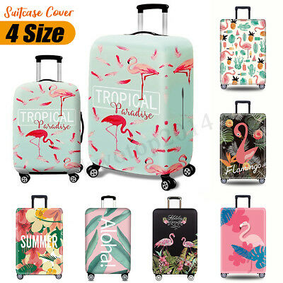 "Travel Luggage Cover Protector Digital Printing Suitcase Waterproof 18"" - 32"""