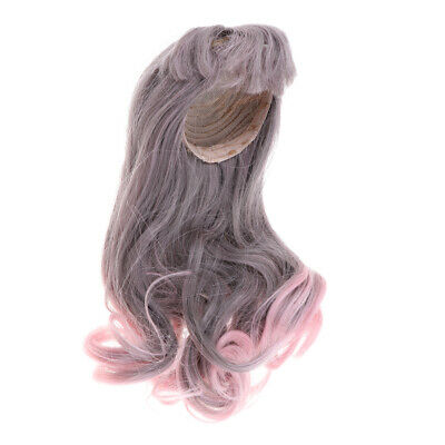 BJD Dolls Full Wig 9-11 inch 22-26cm For 1/3 SD DZ DOD LUTS Long Curled Hair