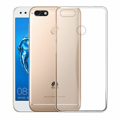 For Huawei P9 Lite Mini Plus Soft Silicone TPU Ultra Thin Clear Case Cover Skin