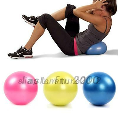 Women's 25cm Mini Yoga Ball Pilates Fitness Exercise Birthing Stability Balls AU