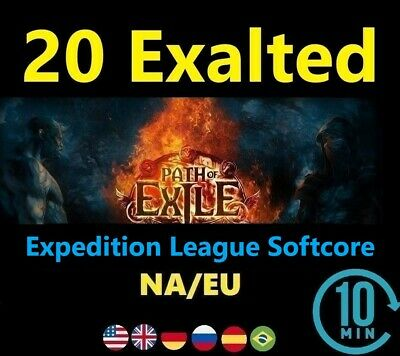 20 x Exalted Orb SYNTHESIS League Softcore (Path of Exile POE SC) 20 ex EU/NA/UK