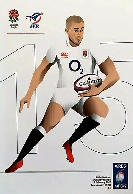 ENGLAND v FRANCE 2017 RBS SIX NATIONS RUGBY PROGRAMME Mike Brown