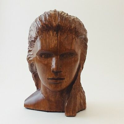 Wood Bust of a Woman