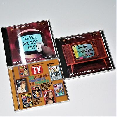 Television's Greatest Hits  Living Color / Remote Control & Tv Guide 50 Favorite