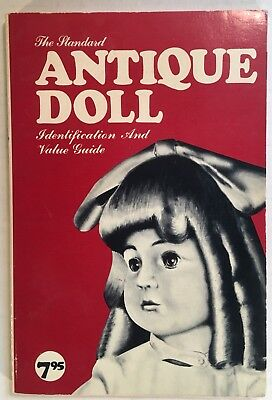 1976 The Standard Antique Doll Identifaction & Value Guide Softcover Book