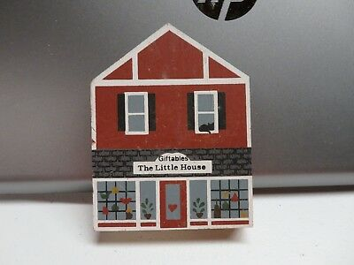 The Cats Meow Village Building - Little House Giftables 1986 #38