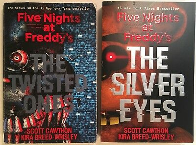 Five Nights at Freddy's Book Lot - #1 The Silver Eyes & #2 The Twisted Ones - SC