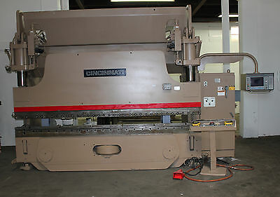 175 Ton x 12' Cincinnati 175AFX10 CNC 6 Axis Hydraulic Press Brake