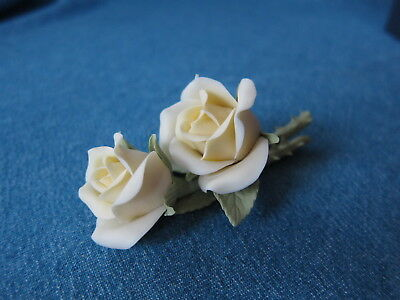Lladro # 5183-B ~ TWO YELLOW ROSES RARE!!!    ***MINT*** With original box