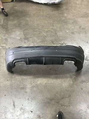 Mercedes C63 AMG 07-11 Pre Facelift Rear Bumper With Diffuser New