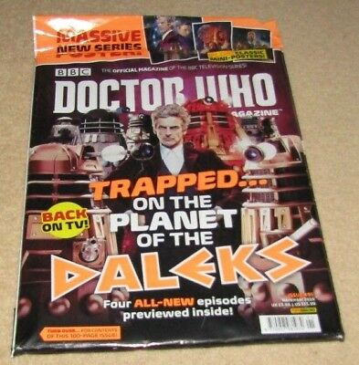 Doctor Who Magazine Trapped On The Planet Of The Daleks Issue 491 November 2015