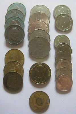 Mixed Lot of Coins From Jamaica