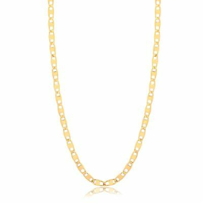 """18K Gold Filled 18"""" Gucci-Link Chain Necklace"""