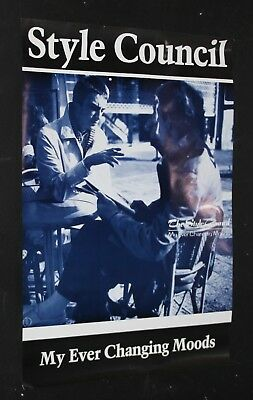 The Style Council Ever Changing Moods Original 1984 75x51cm Orig Promo Poster