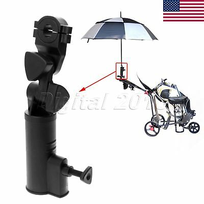 NEW Adjustable Angle Golf Umbrella Holder Universal Golf Cart Trolley US SELLER