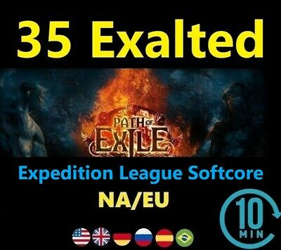 35 x Exalted Orb SYNTHESIS League Softcore (Path of Exile POE SC) 35 ex EU/NA/UK