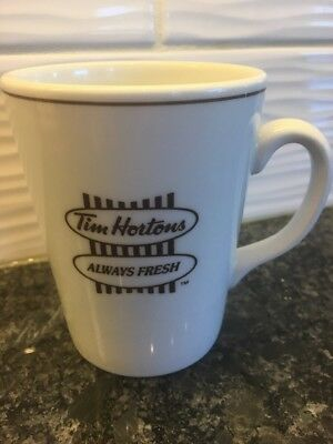 Vintage Tim Hortons Coffee Mug Always Fresh Donut Shop England Steelite 12oz Cup