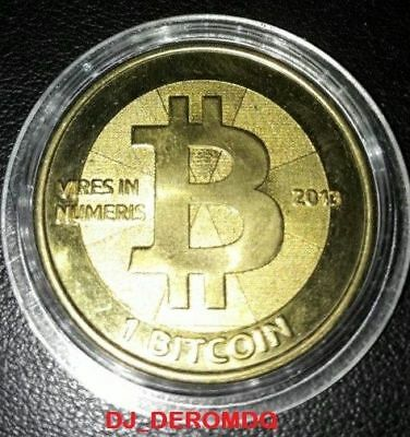 Bitcoin Casascius 2013 - 1 Btc Loaded Fully Funded (Physical Coin)