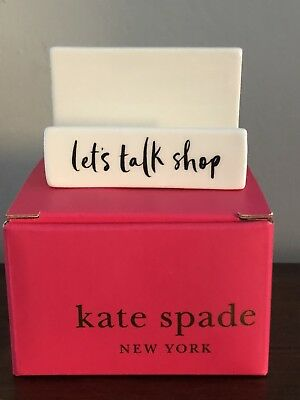 Kate Spade Daisy Place Business Card Holder - Nib