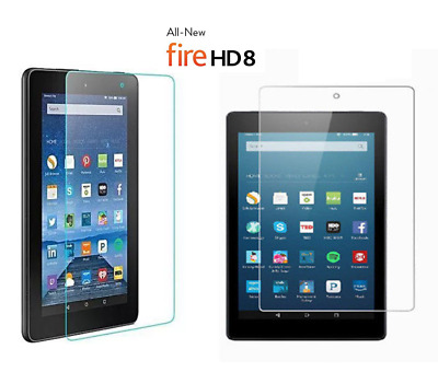 """Ultra Clear HD Screen Protector Guard Cover For Amazon Fire HD 8"""" All Edition"""