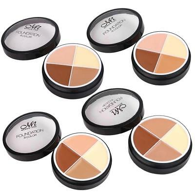MENOW 4 Colors High Concealer Foundation Cream Face Makeup Paste Cosmetic Beauty